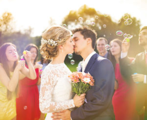 Details like bubbles can make your all inclusive wedding in Chattanooga extra special.