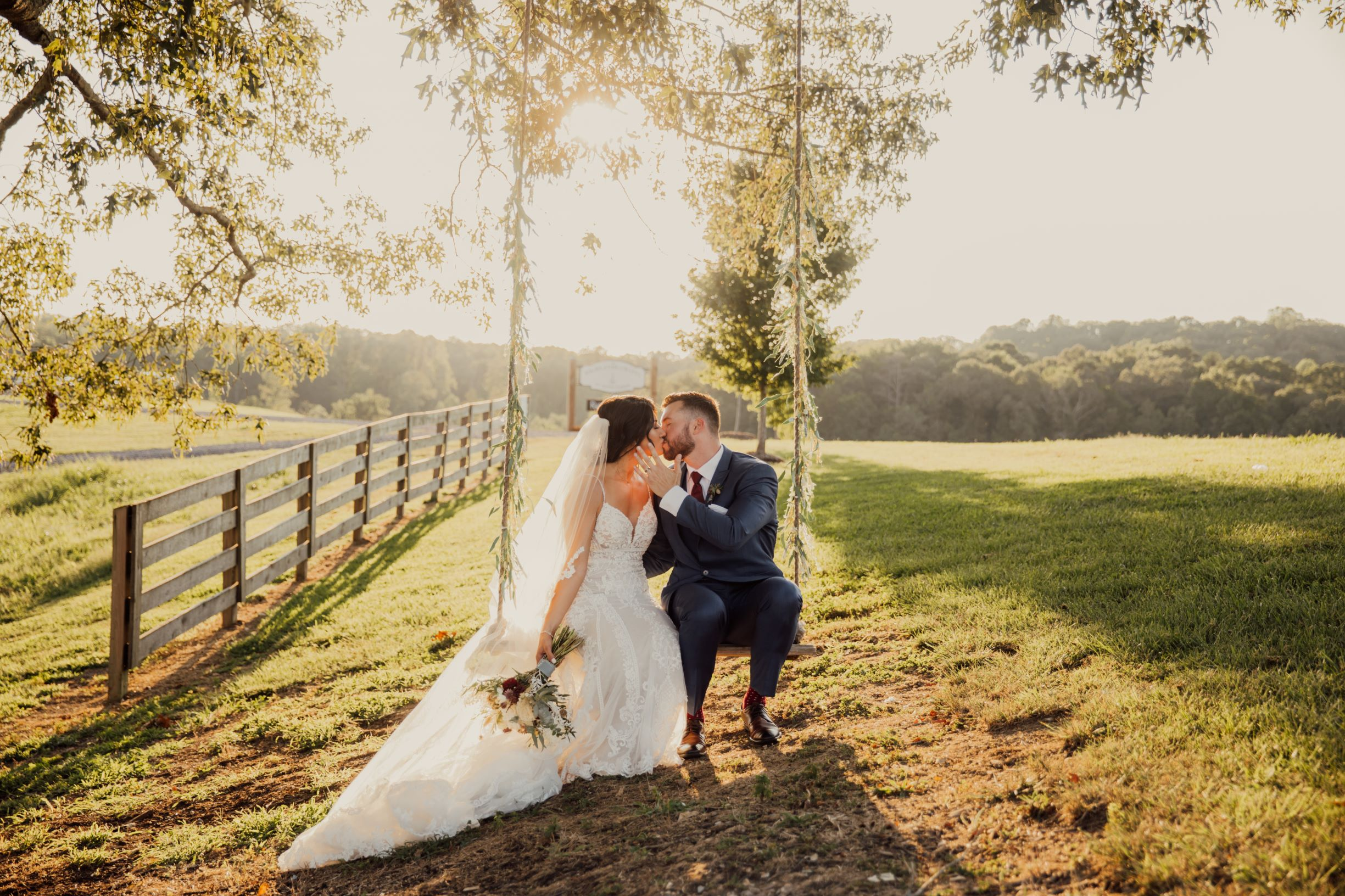 You won't believe the amazing photo ops you'll have at our beautiful Chattanooga wedding venue.