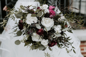 May Flowers is another of our preferred Chattanooga wedding vendors, creating gorgeous bouquets like this one.