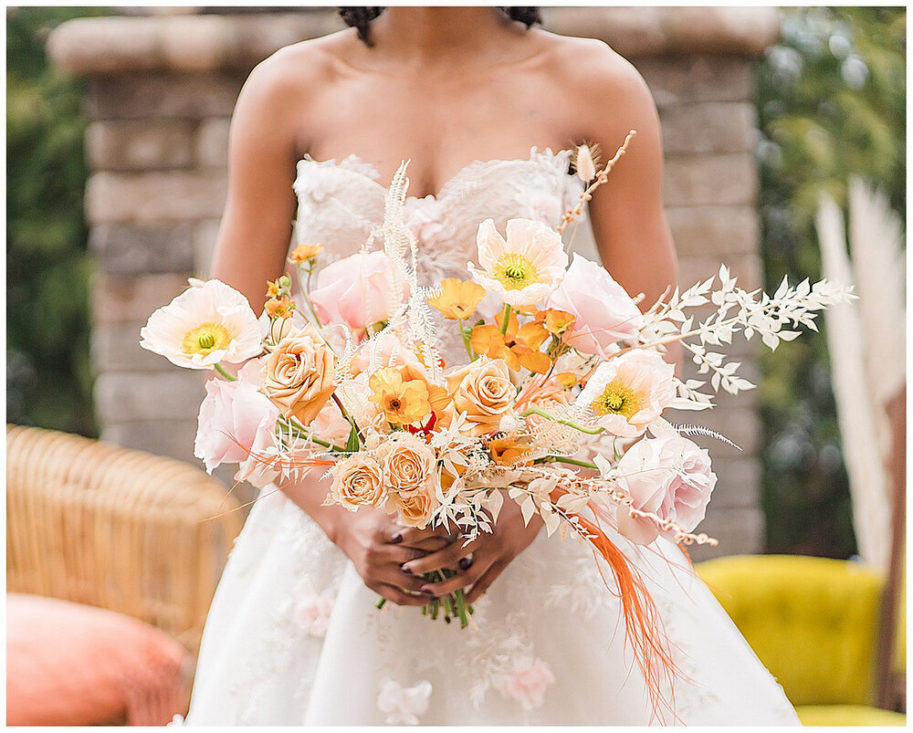 Vote for our boho moroccan bouquet for Best of the Blog.