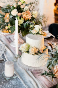 If you're wondering how to plan a wedding in 90 days, find ways to cut time like getting your cake from a local grocery or bake shop.