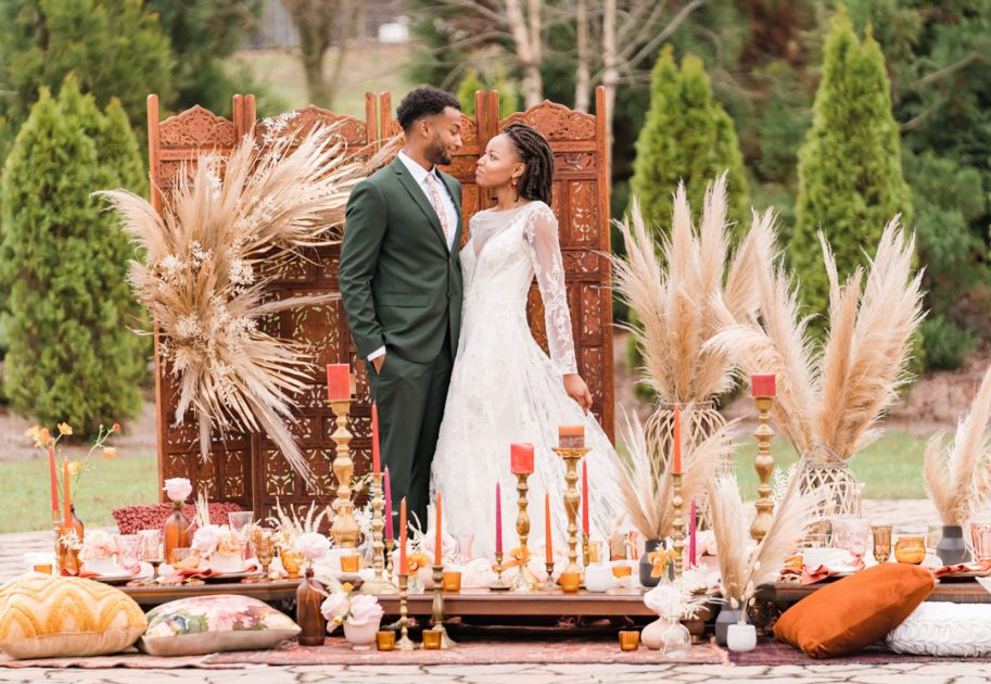 Boho wedding is one of the Best Wedding Themes for Your Chattanooga Wedding